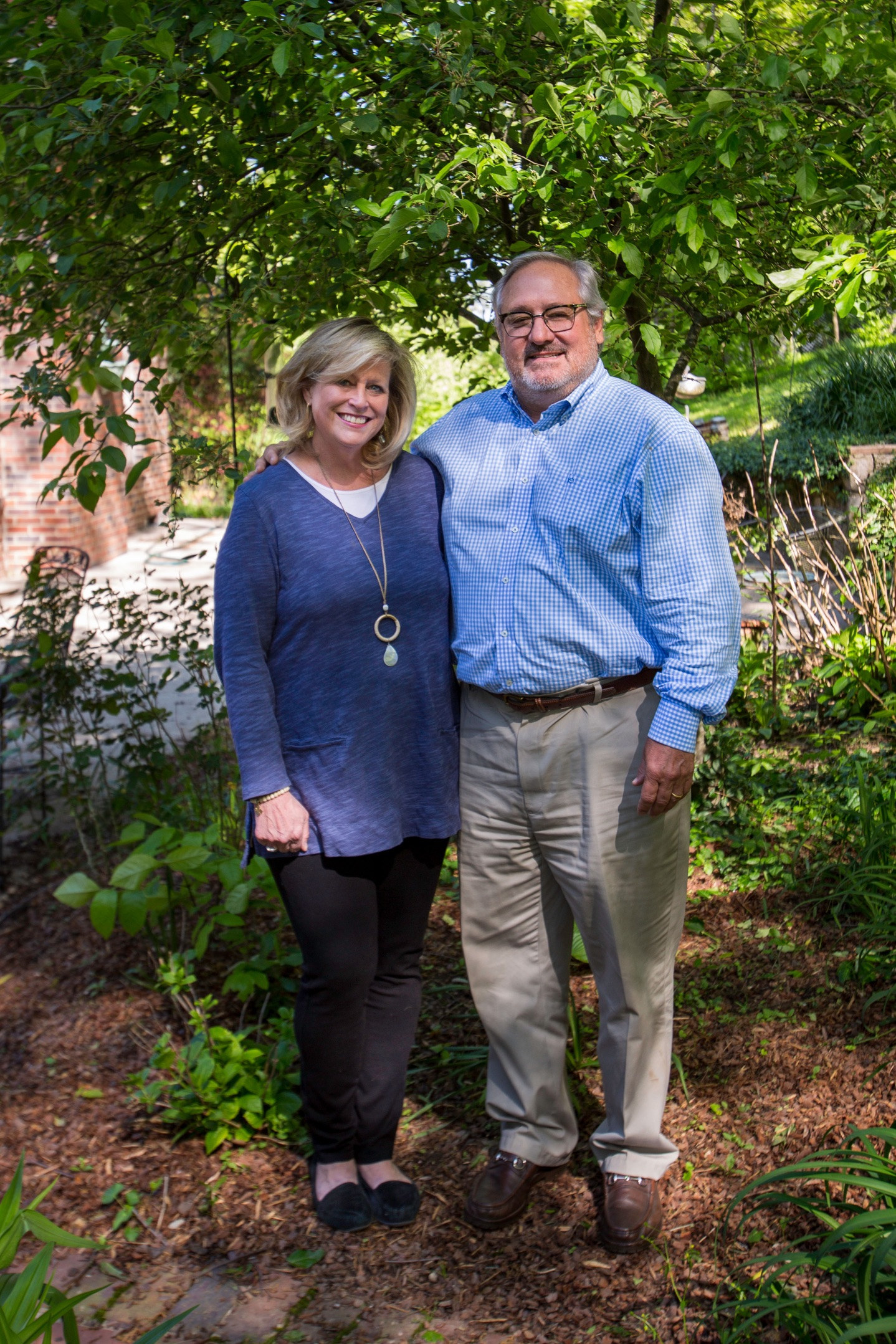 Neal Clayton, Managing Broker, and Marguerite Clayton, Property Manager