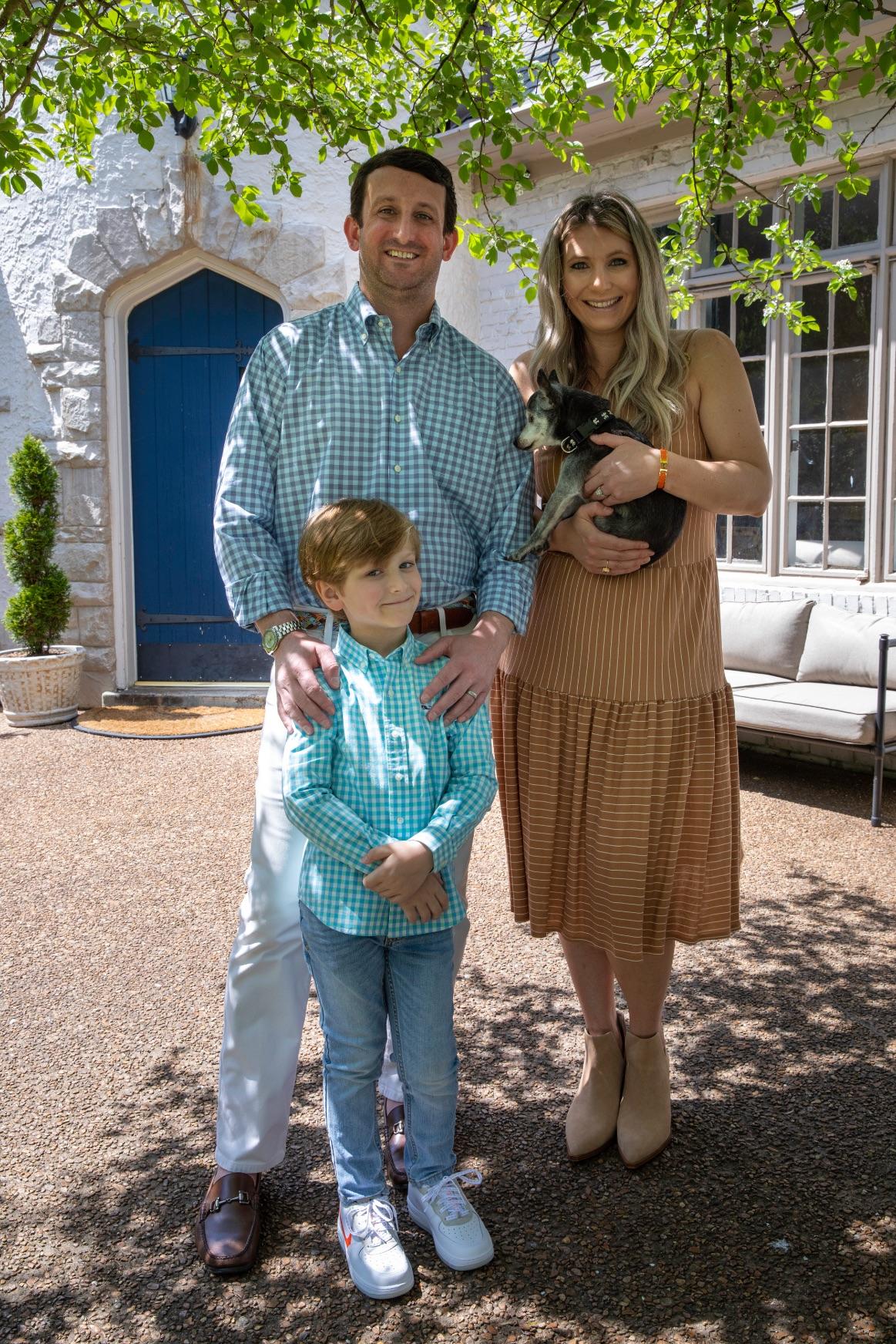 Jeremy Jeter, Real Estate Advisor, and family