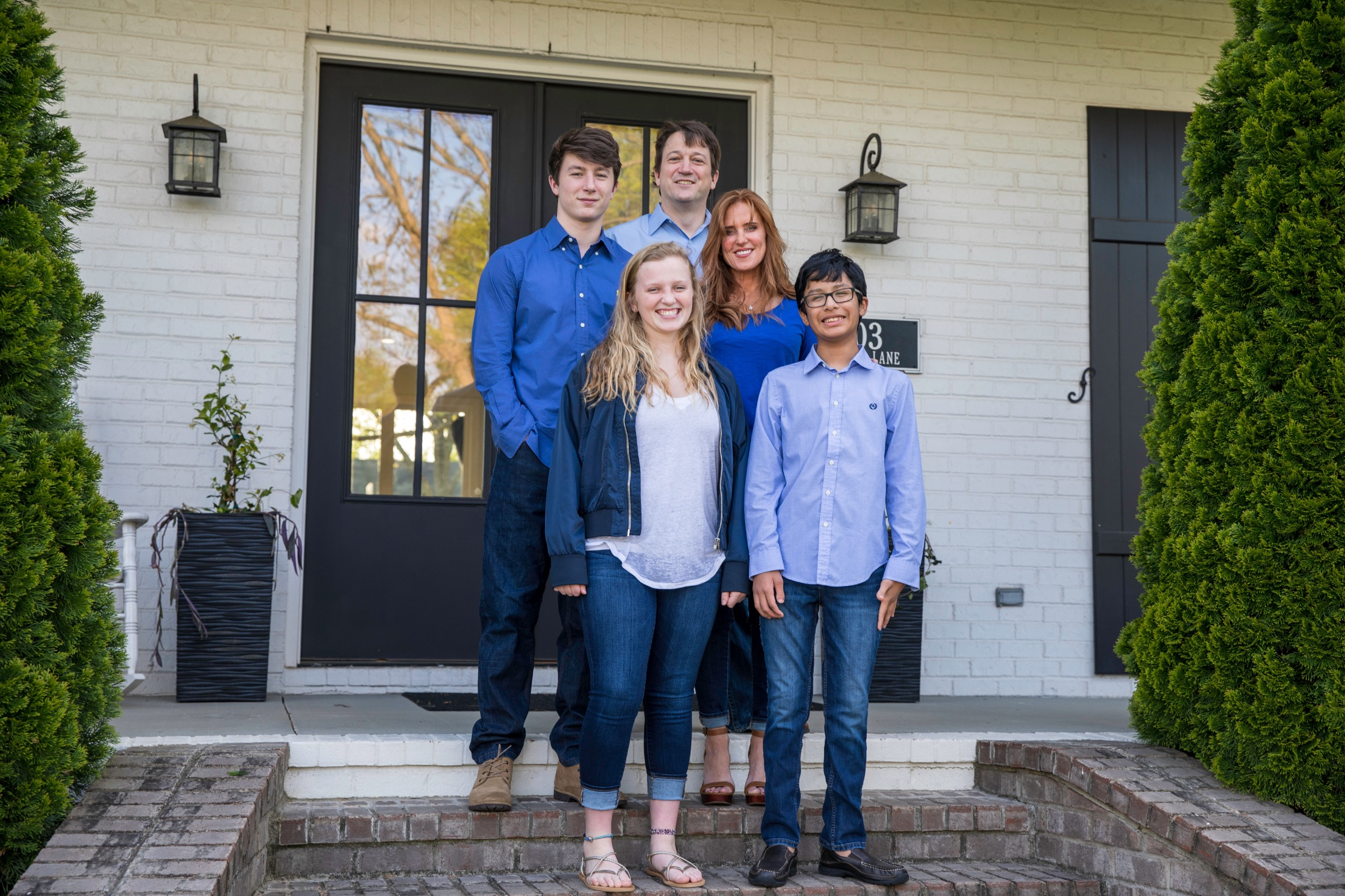Traci Semptimphelter, Real Estate Advisor, and family